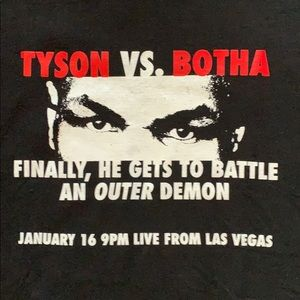 Tyson vs. Botha Promotional T Shirt